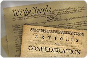 the importance of the documents of the articles of confederation and the us constitution
