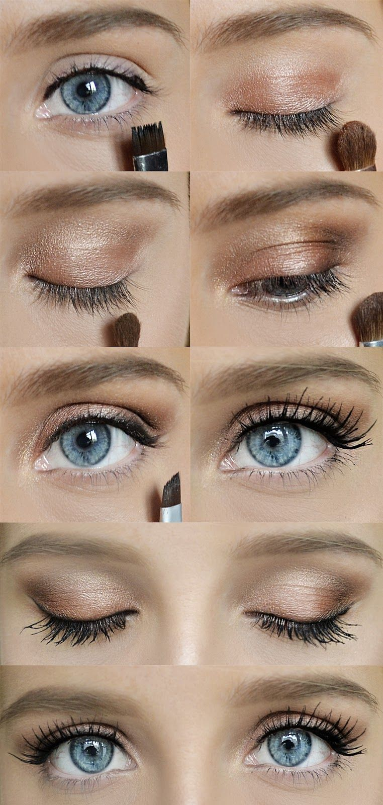 Simple eye make up The face.^^ Pinterest