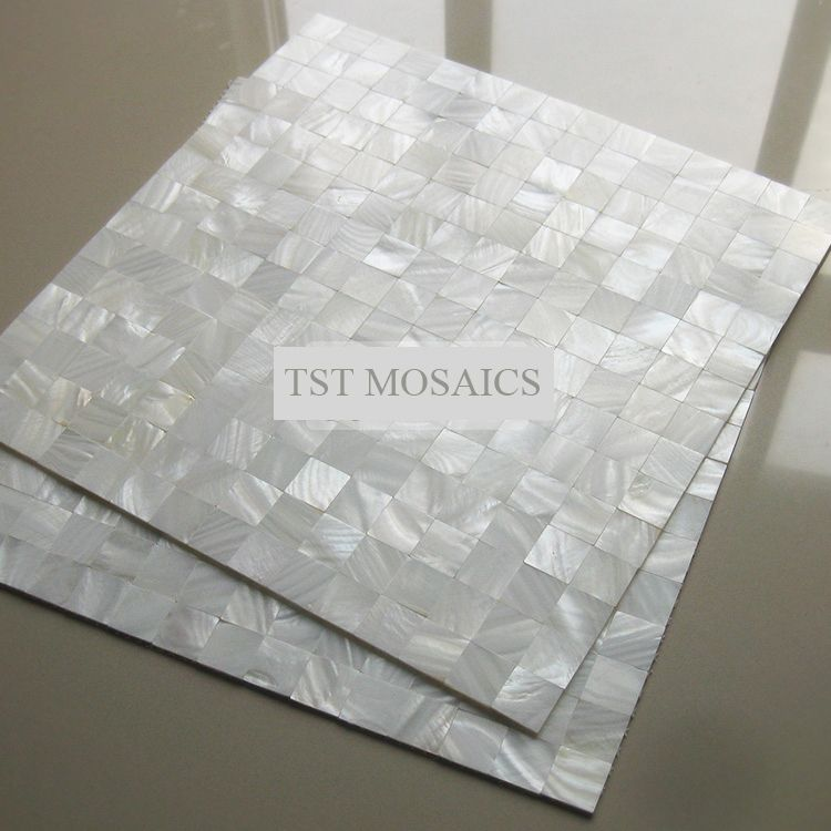 White Luster Mother Of Pearl Tiles Backsplash Kitchen Bathroom Mirror Tile Backspalsh Wall Shell Mosaics