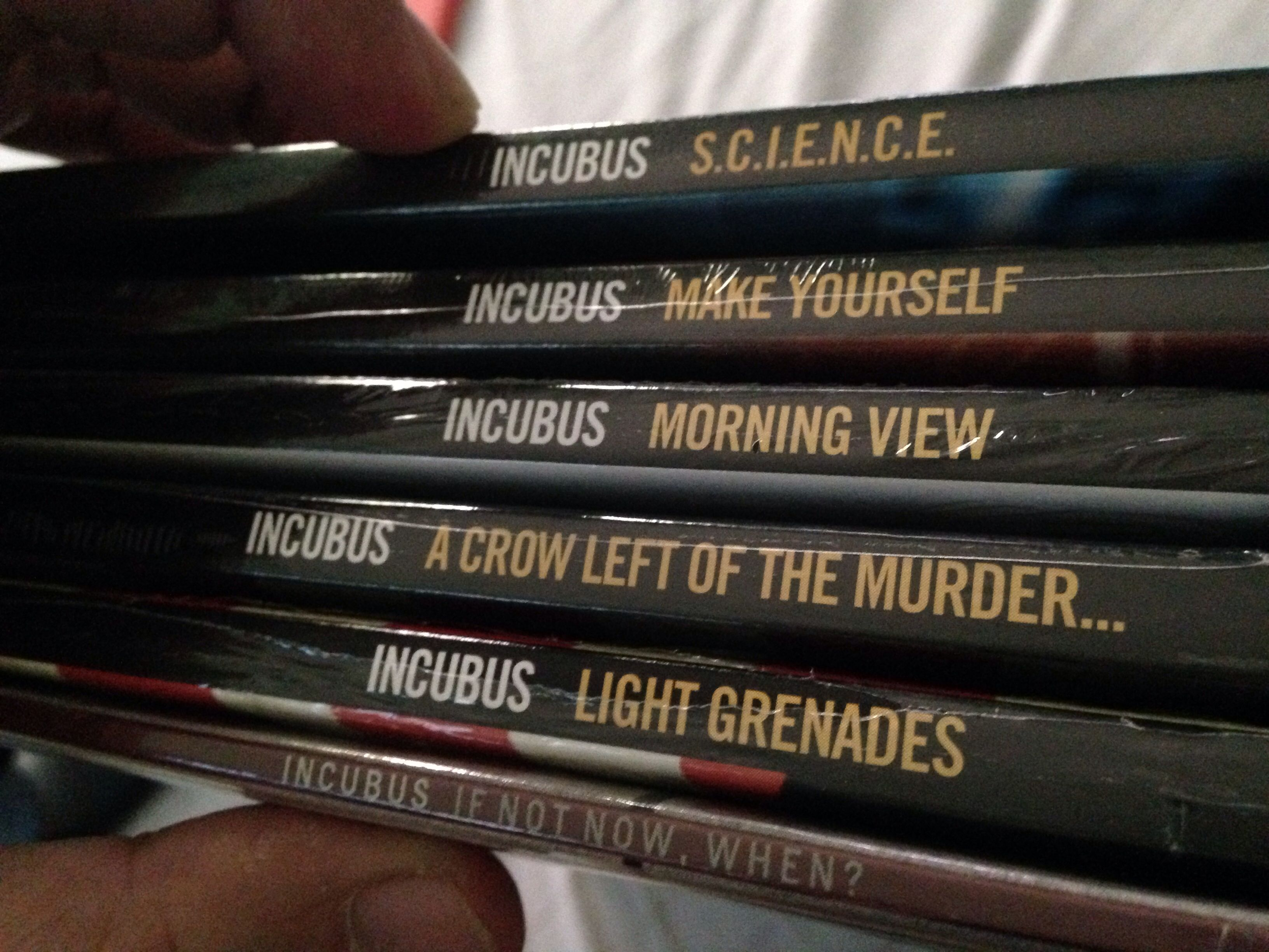 Incubus Songs List Ideal my incubus vinyl collection   incubus   pinterest