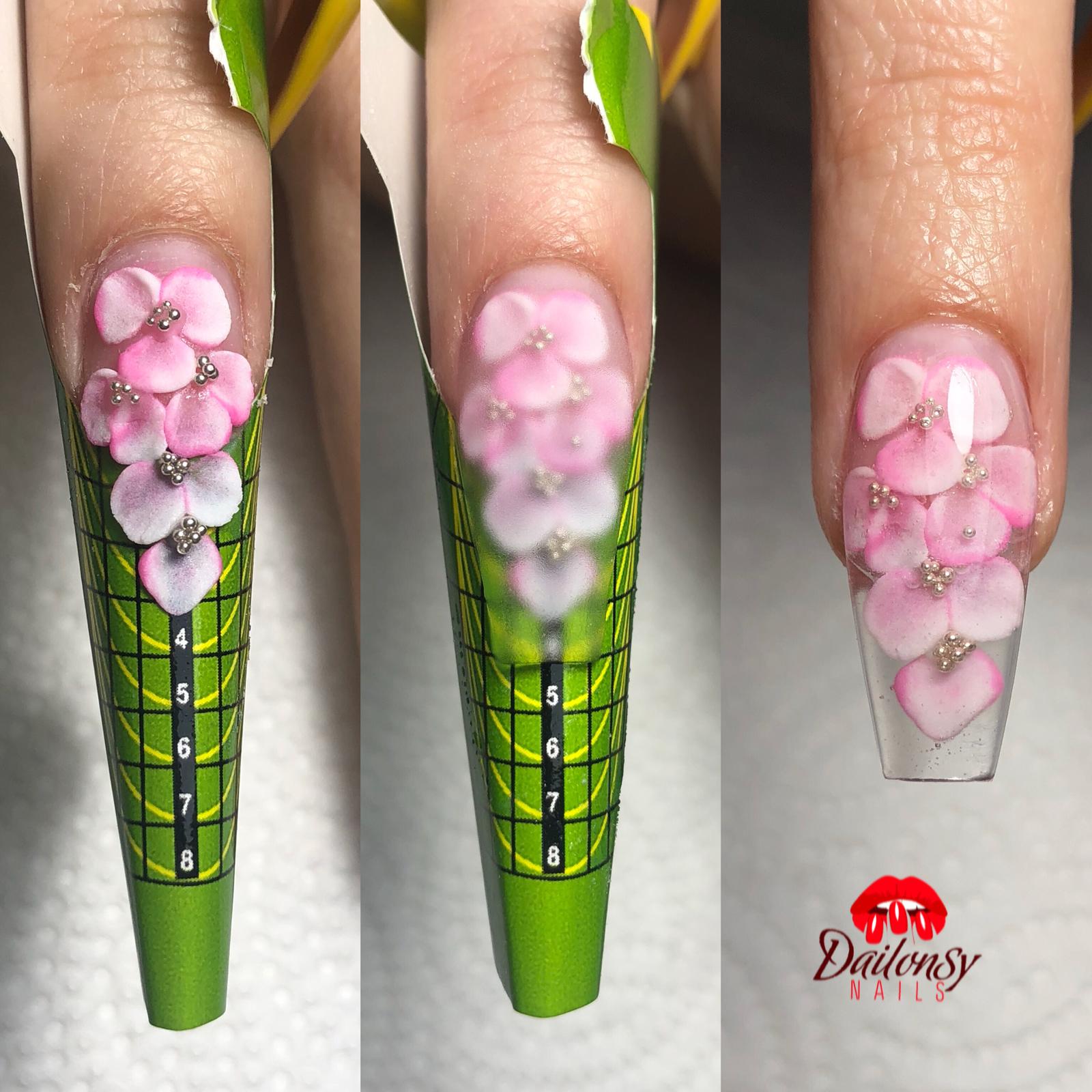 Pin De Dailonsy Nails En Nails Técnicas De Uñas Manicura
