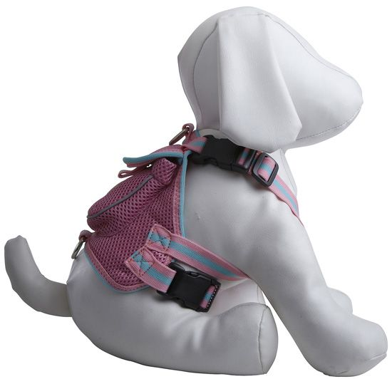 Very cute n practical for doggy treats Pet Life Mesh Harness