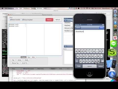 Recording iOS automated Tests using Appium Inspector