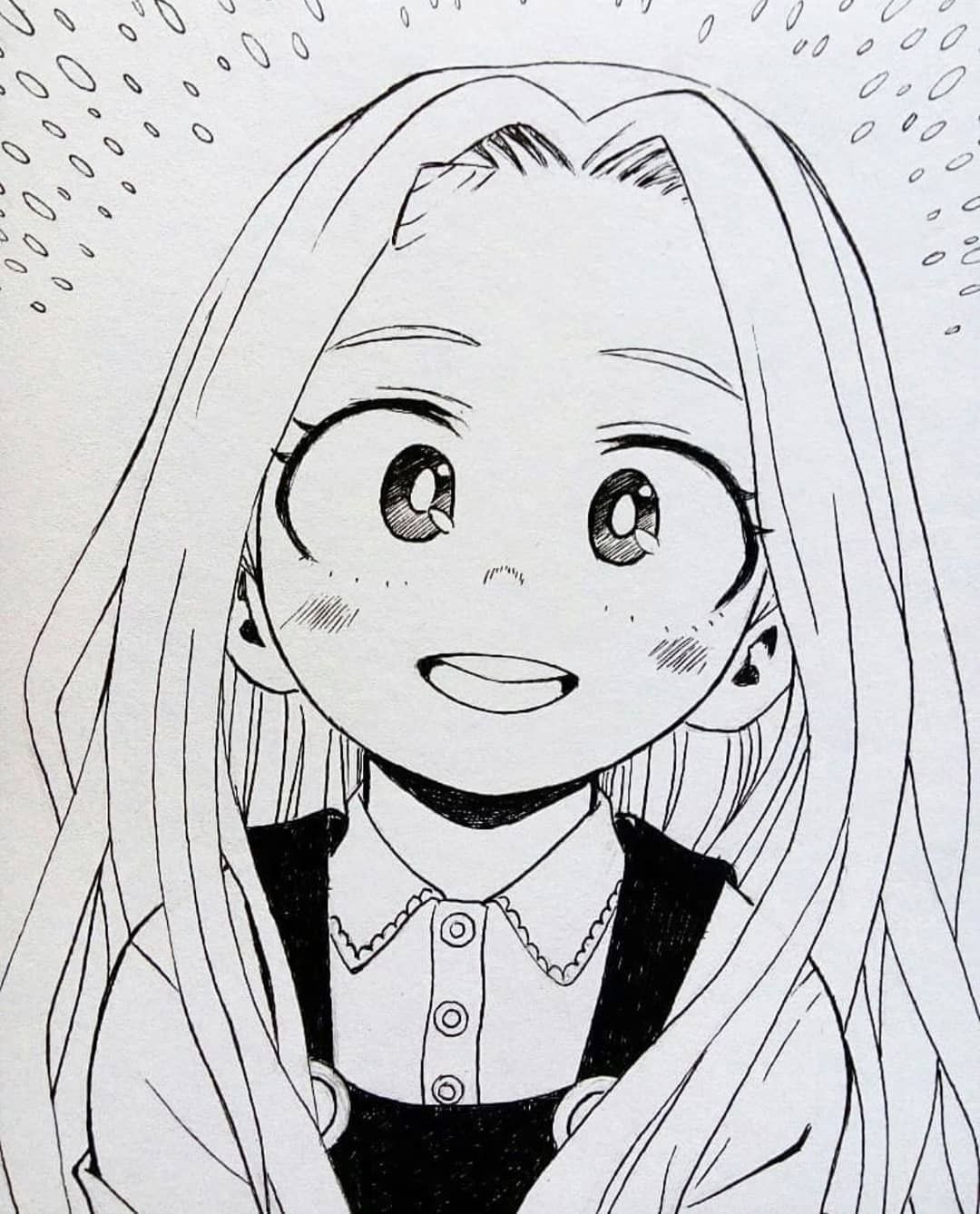 easy anime characters to draw mha