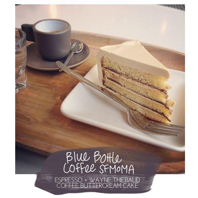 Chelsea Bakes In Sf: Blue Bottle Coffee @ Sfmoma