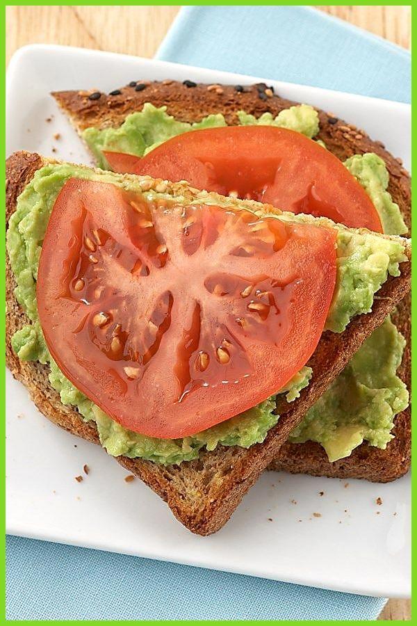 Avocado-Tomaten-Gesichtssandwich #AvocadoTomatenGesichtssandwich #Fitness food low carb #Fitness foo...