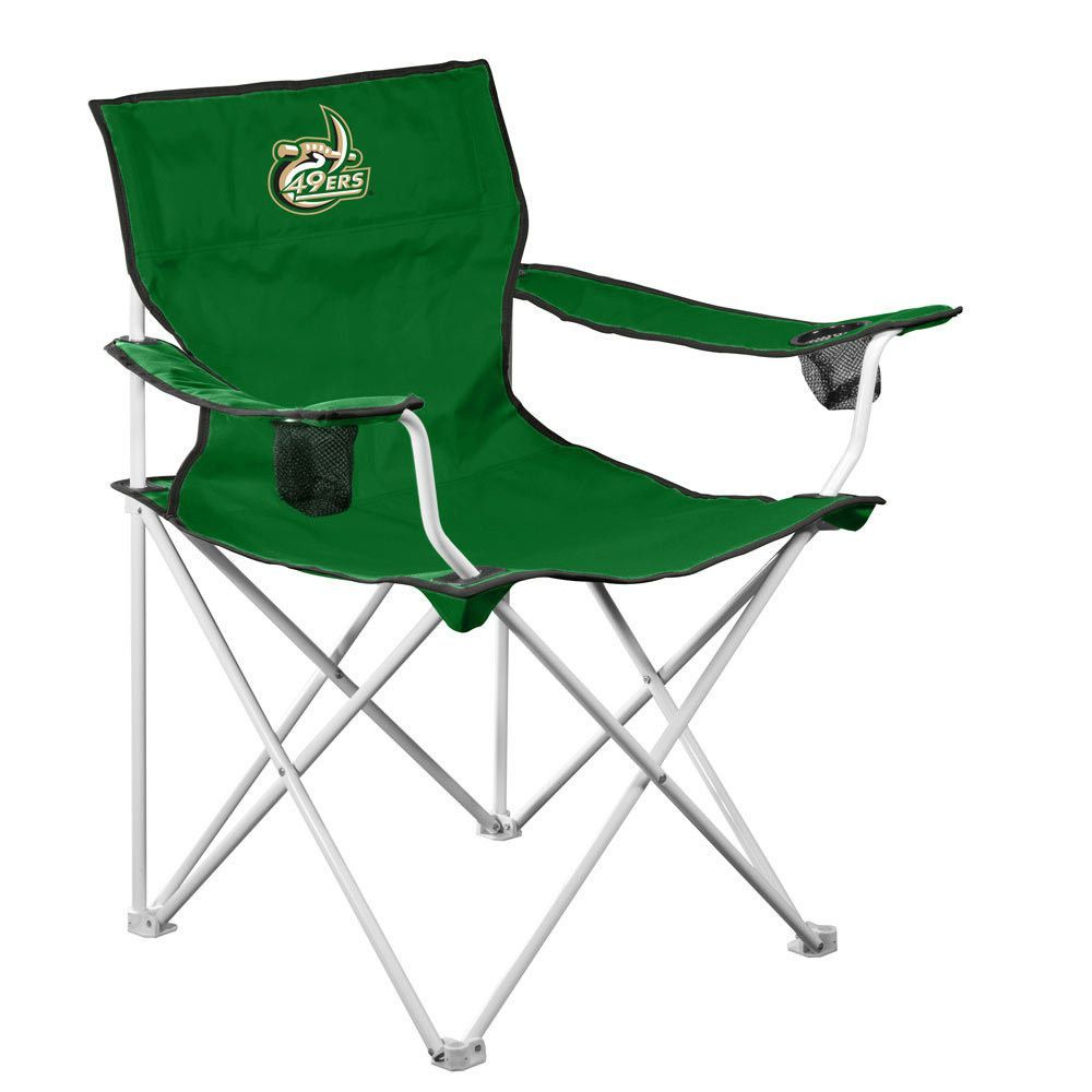 49ers camping chair office chairs for bad backs reviews ncaa unc charlotte deluxe i am a 49er pinterest