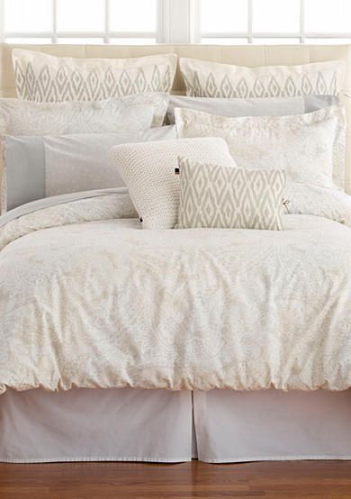 Tommy Hilfiger Mission Paisley Bedding Collection Paisley Bedding Luxury Bedding Master Bedroom Bed