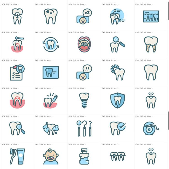 30 Free Medical Icon Sets To Download With Images
