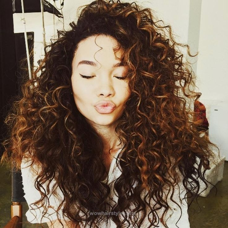 Caramel Highlights Curly Hair 15 Luscious Long Hairstyles For Curly