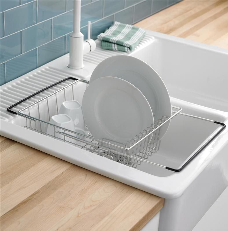 Marvelous Kitchens, Comfortable And Cozy Kitchen With In Sink Dish Drying Rack That  Has The Unique