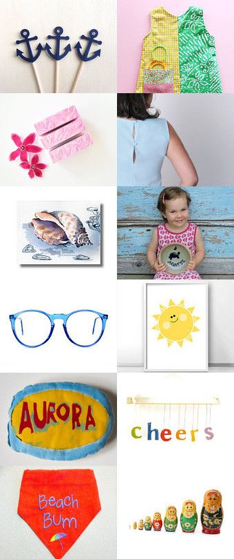 Fresh summer colors by Imma on Etsy--Pinned+with+TreasuryPin.com