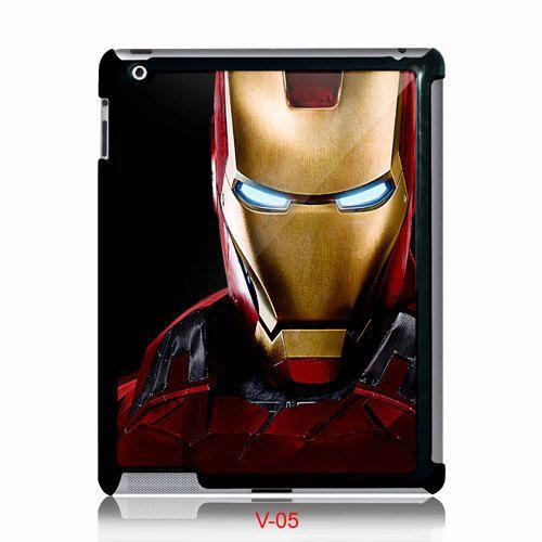 New Cool Ironman Face Apple Ipad 2 Ipad 3 Or Ipad Mini Case Via Etsy Black Case Ipad Mini Case Iron Man