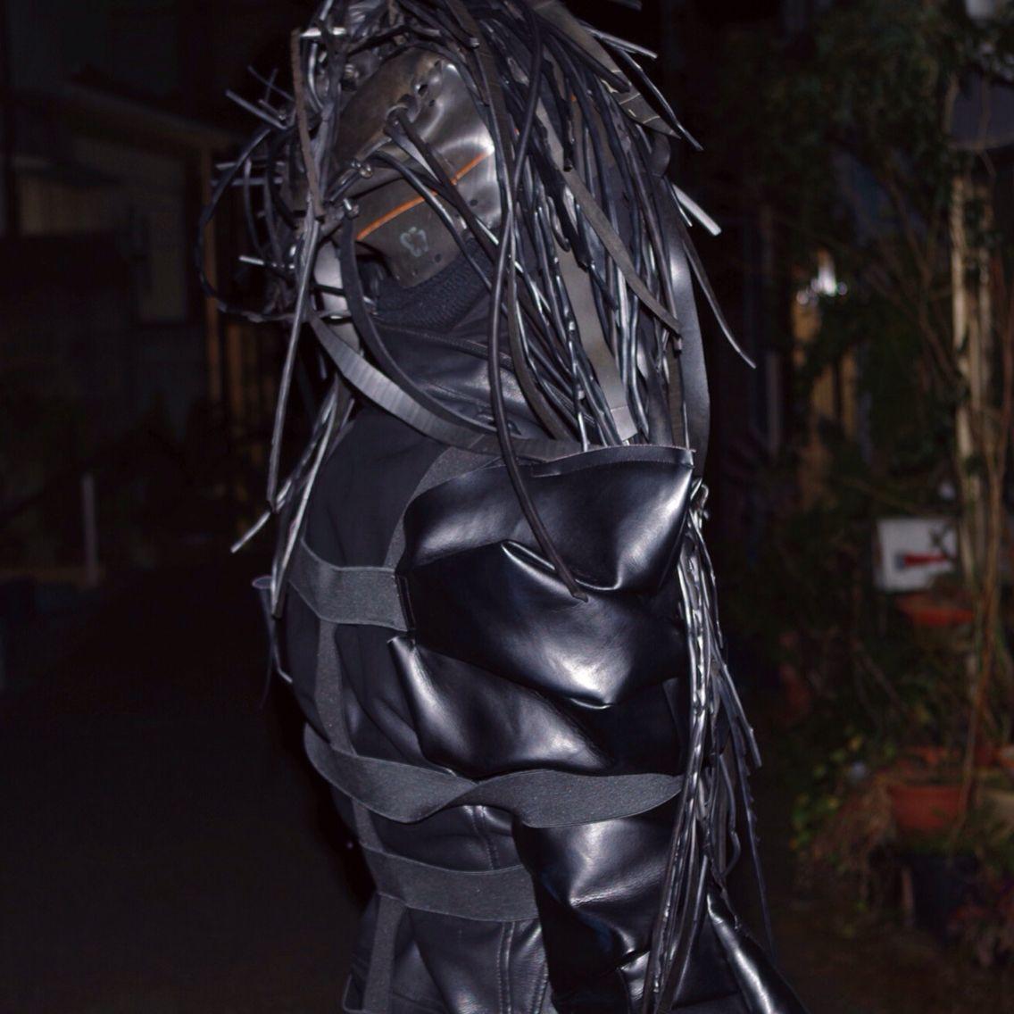 cyber avantgard fashion.  styling : kyosuke model: kyosuke photo: tochio