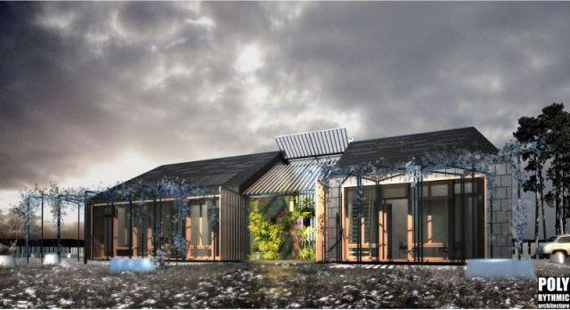 Préférence Une serre bioclimatique est un espace tampon vitré et accolé à la  QG39