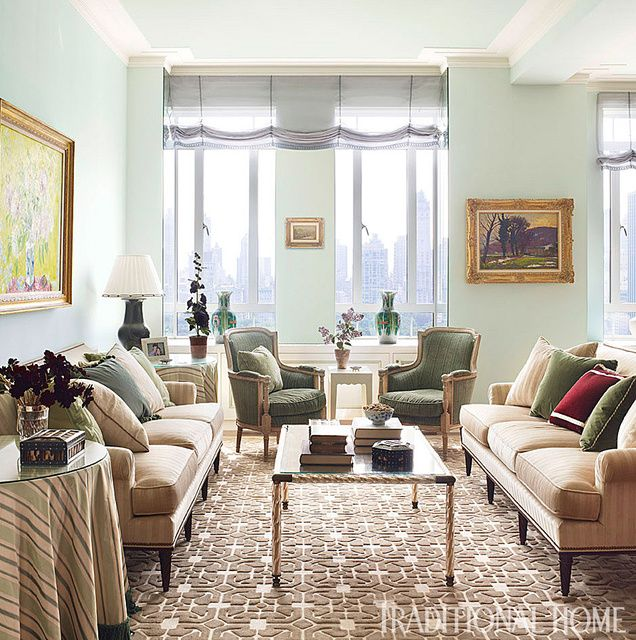 The Living Room Thai Nyc: Manhattan Apartment With Elegant British Style