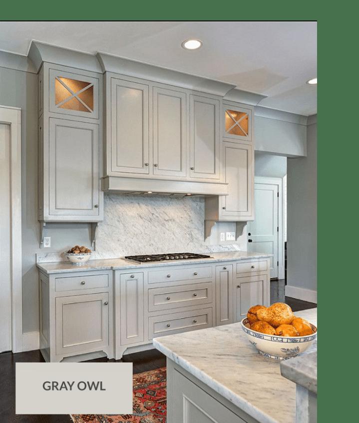 Escape Gray Kitchen: Top 10 Gray Cabinet Paint Colors