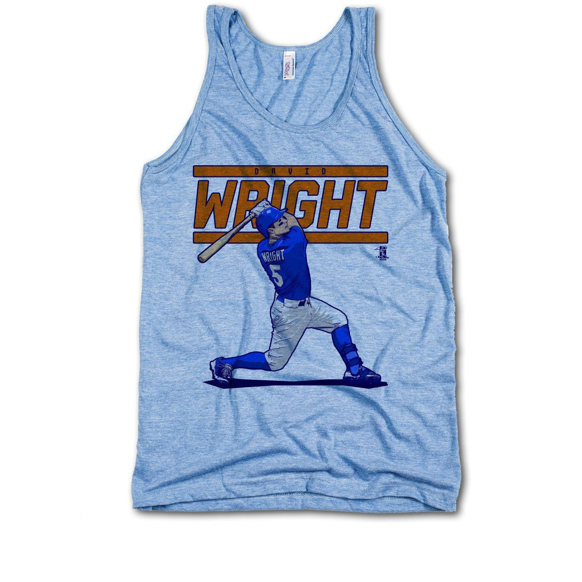 David Wright Officially Licensed MLBPA New York M Male Tank Top S-XL David Wright Score O