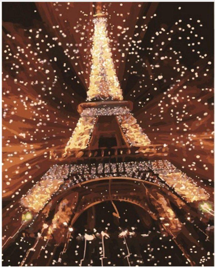 Открытка с новым годом париж, открытки