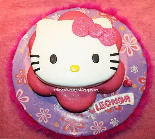 Bolo de aniversário Hello kitty