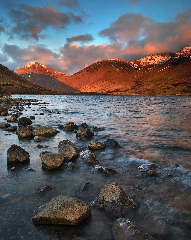 Late Evening Wastwater Lake Photography Environment Photography Landscape Photography