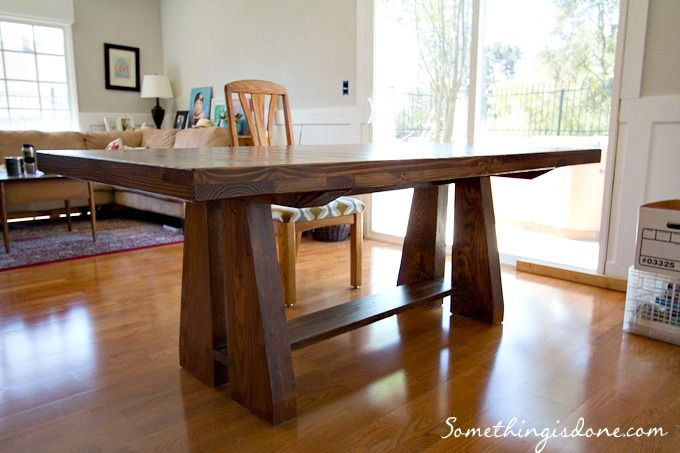 diy dining table 3 DIY Pinterest Diy dining table Sofa