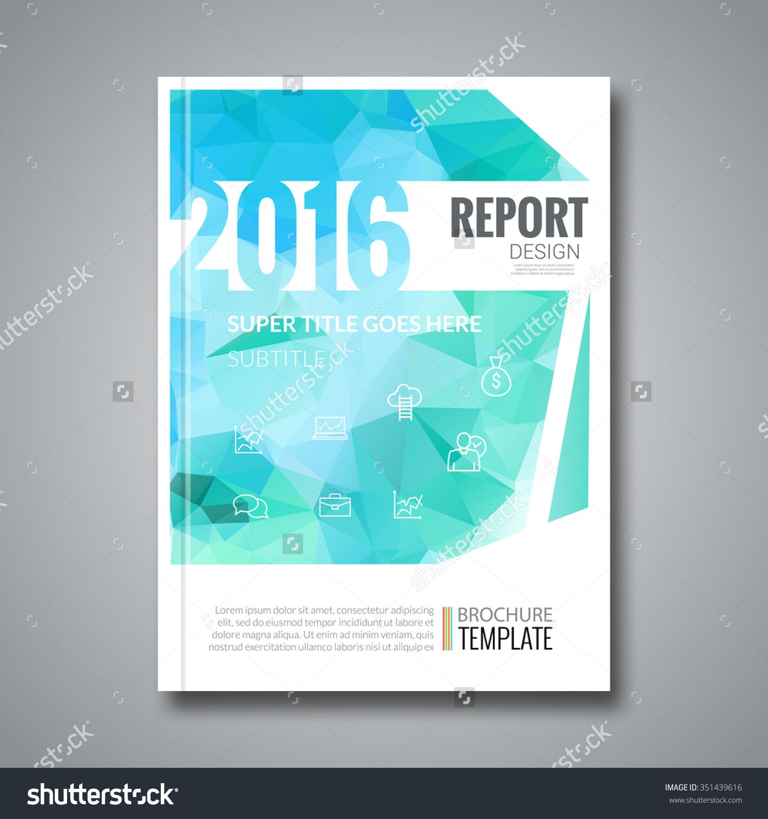 Stock Vector Business Design Cover Magazine Info Graphic   Business Annual Report Template
