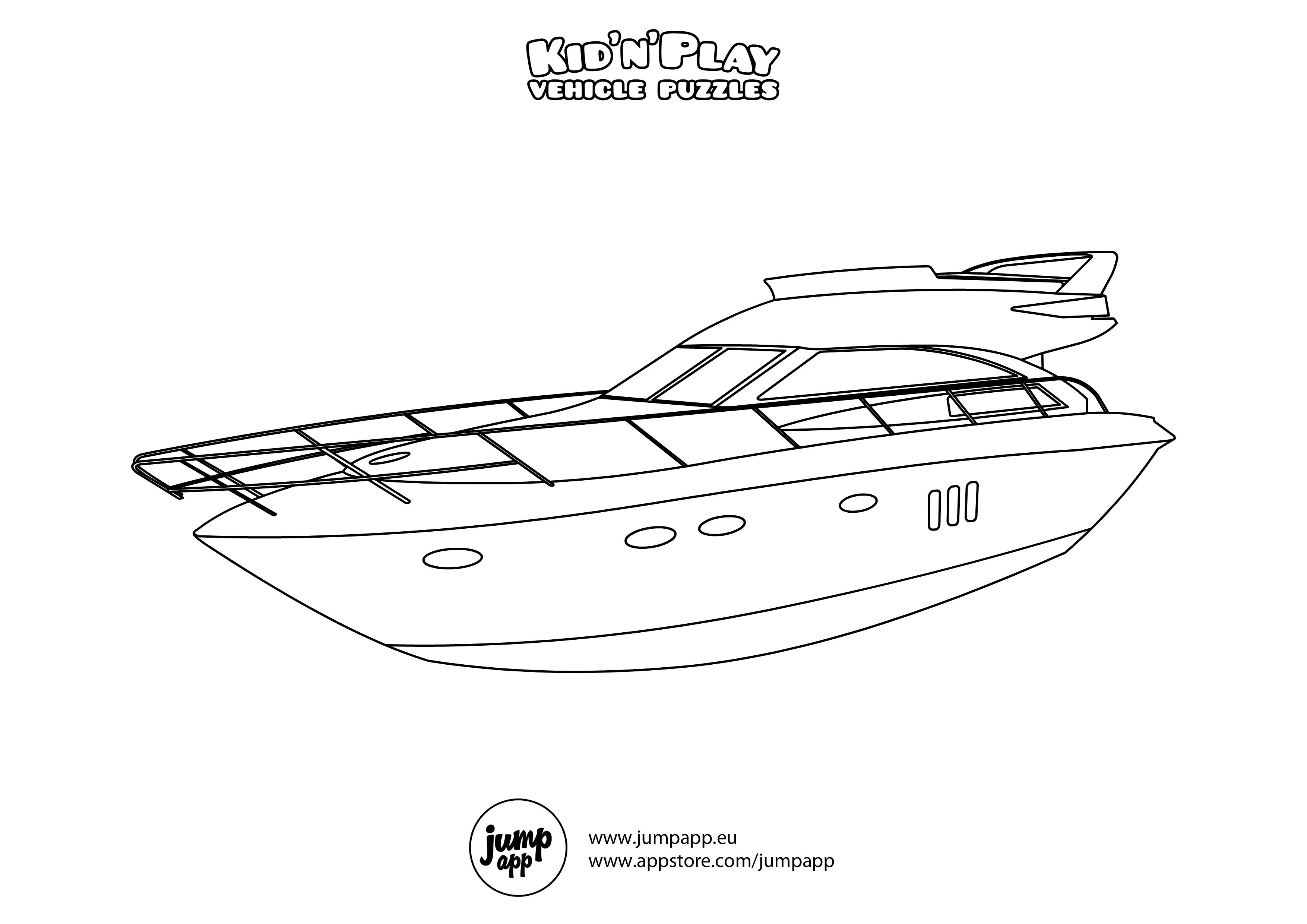 Motorboat Printable Coloring Pages Ninjago Coloring Pages