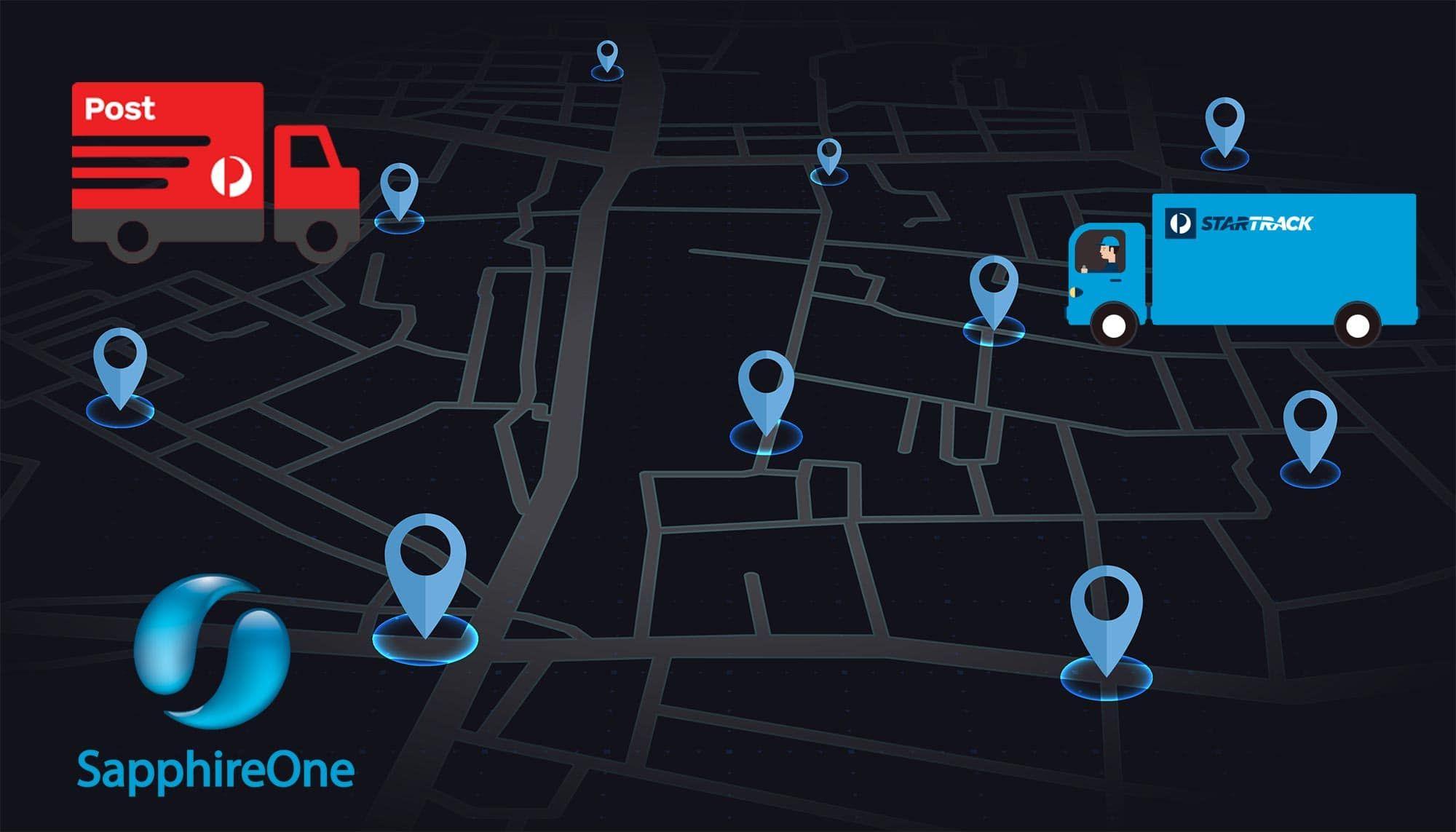 Australia Post API with SapphireOne system transform your