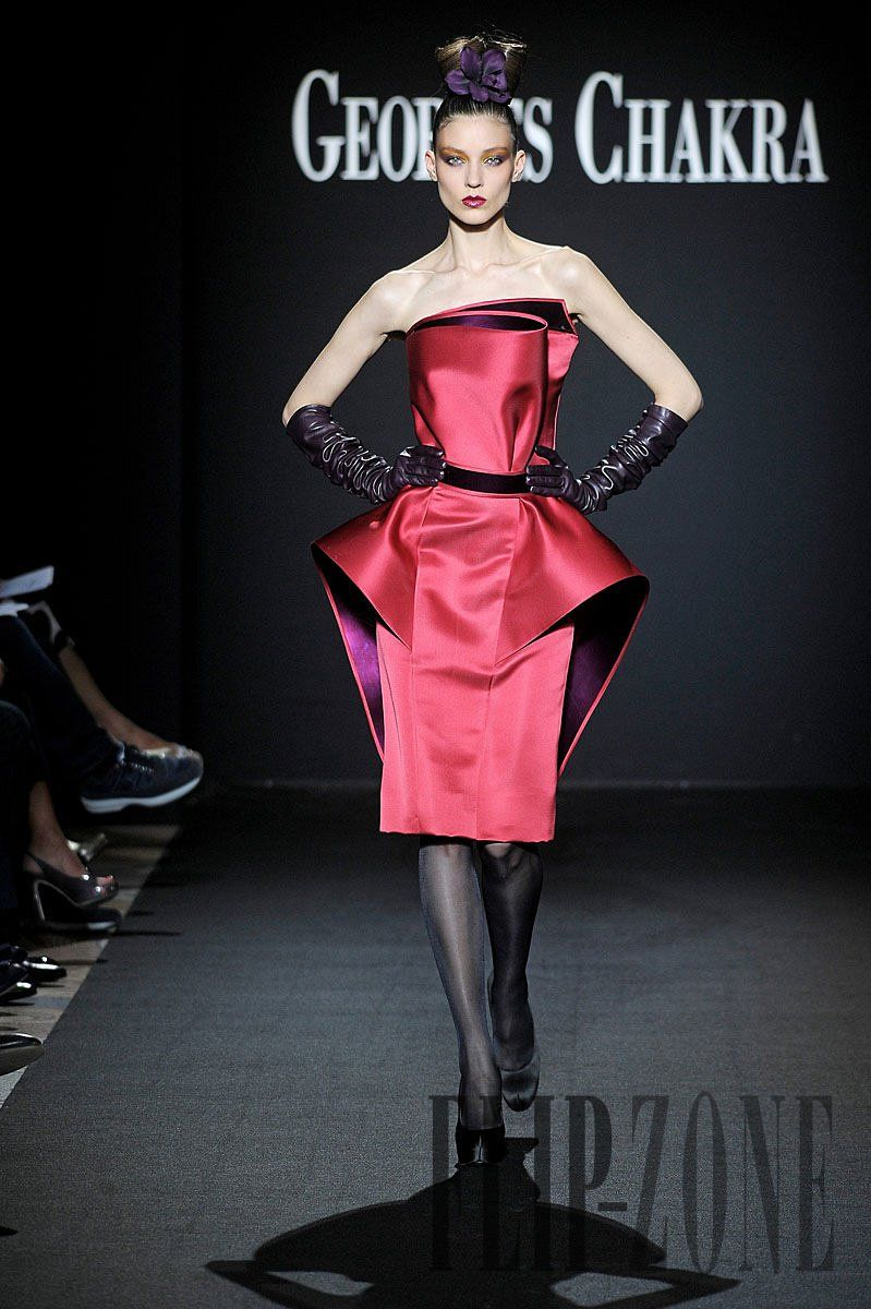 94d4c000b0d4 Georges Chakra Fall-winter 2011-2012 - Couture