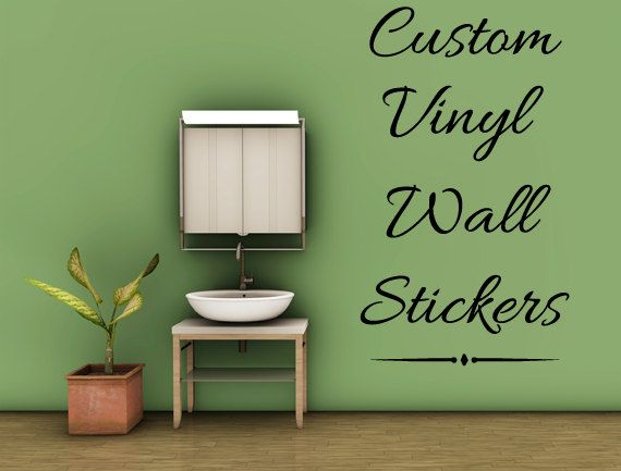 Wall sticker · create your own quote personalized