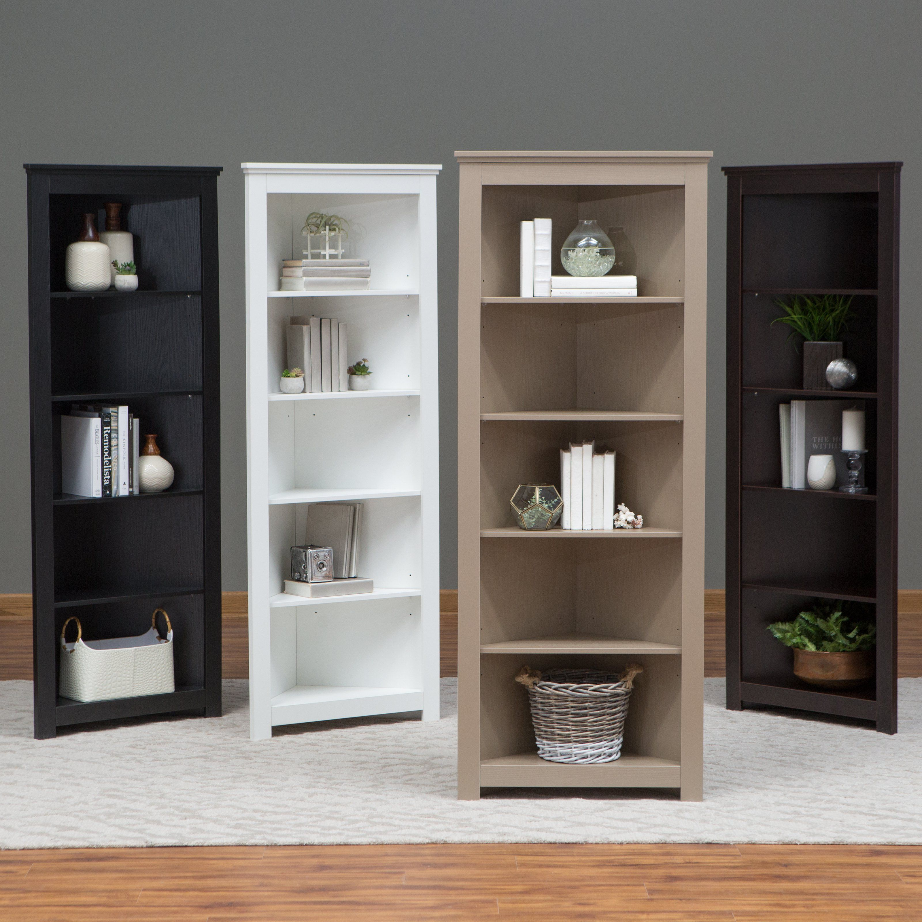 The Redford Apartments: Finley Home Redford Corner Bookcase