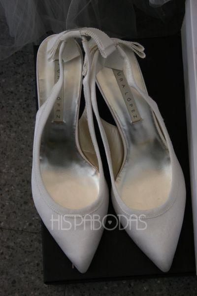 Zapatos de Novia Pura López para La Sposa #zapatos