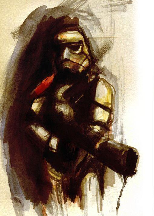 Star Wars Watercolor Art By Reddit User Terry Cook1 Desert