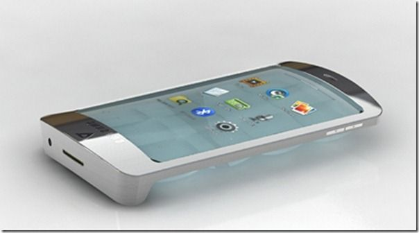 future technology in mobile phones. future technology phones of future. through the glass. in mobile h