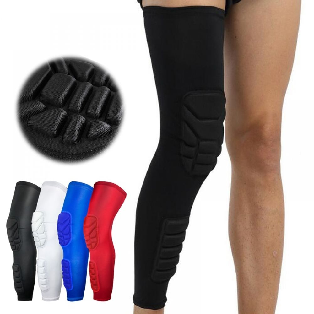 1 Pair Long Knee Compression Pads Basketball Knee Pads Basketball Knee Knee Pads
