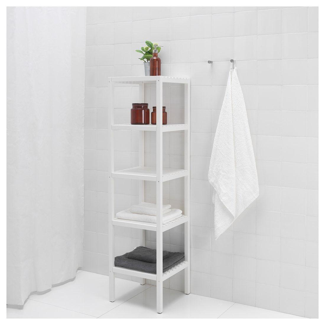 11+ Ikea bathroom shelves white ideas