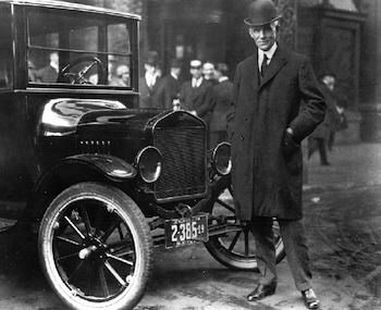 Guess ... Henry ford
