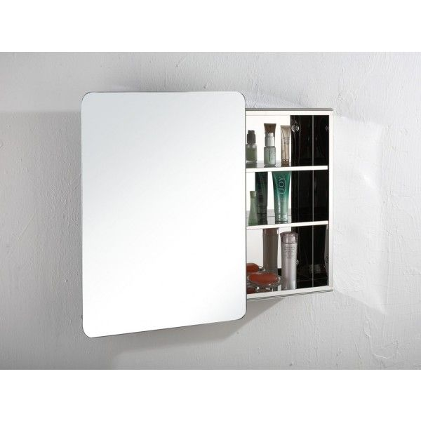 Valencia X Single Sliding Door Bathroom Wall Mirror Cabinet