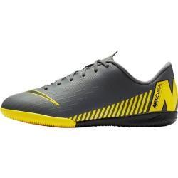 Photo of Nike Kinder Fußballschuhe Halle, Hartplatz Vaporx 12 Academy (ic), Größe 35 ½ In Dark Grey/black-Opt