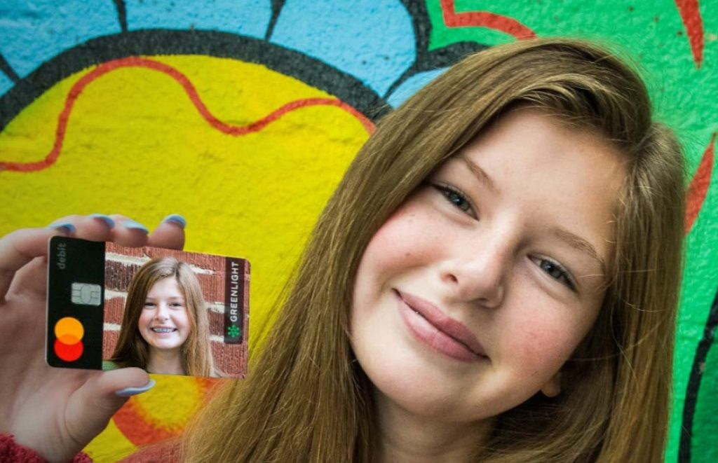 Greenlight debit card for kids that parents manage by app