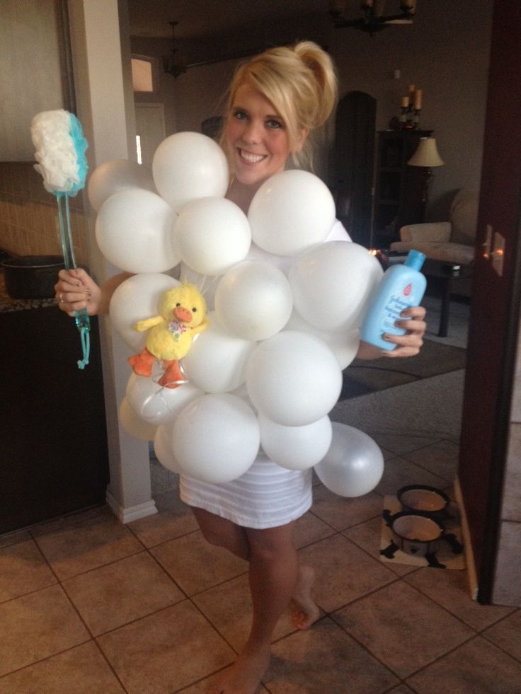 Bubble bath costume google search family halloween for Home made bubble bath