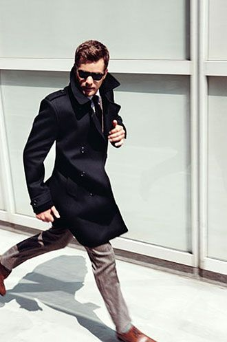 スーツ×トレンチコートの着こなし | スーツスタイルWEB