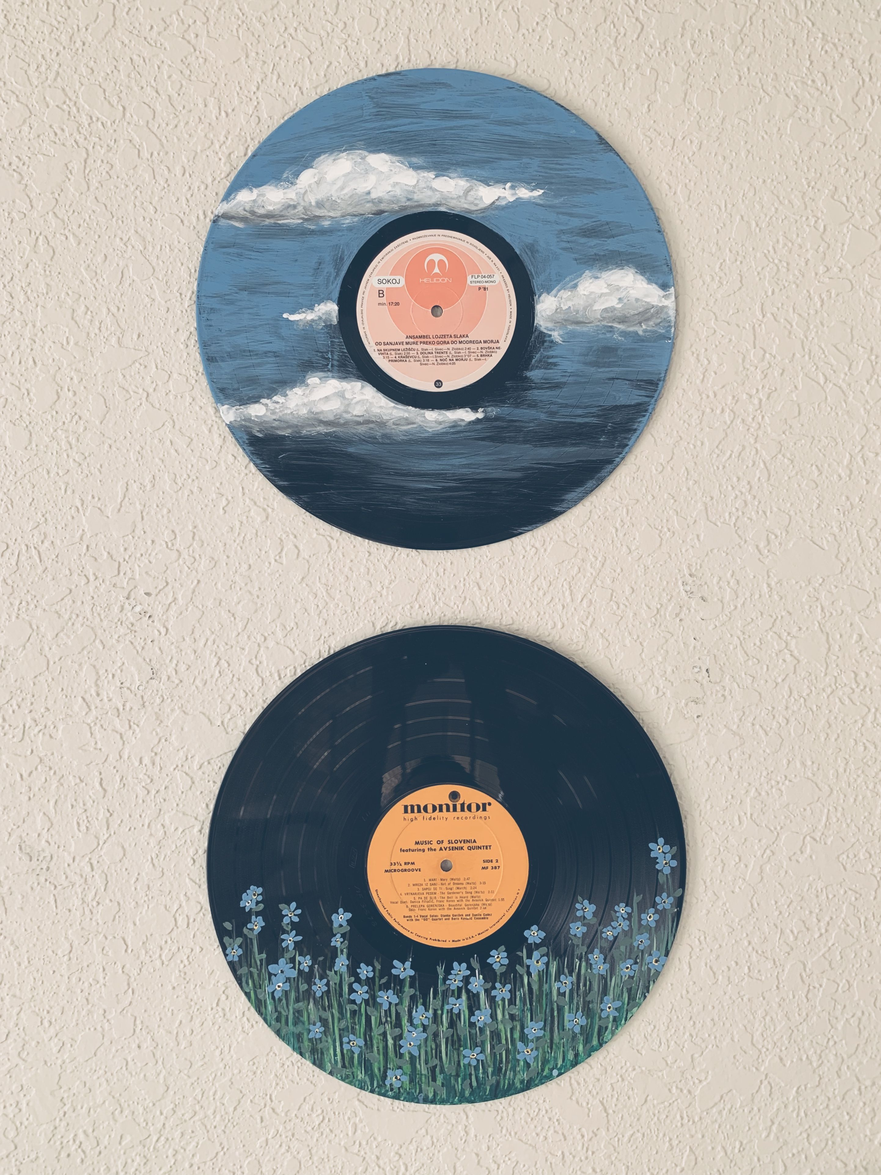 Vinyl Acrylic Painting 1001 Kreative Und Nutzliche Upcycling Ideen Zur Inspirationupcycling Ideen In 2020 Vinyl Record Art Mountain Painting Acrylic Vinyl Art Paint