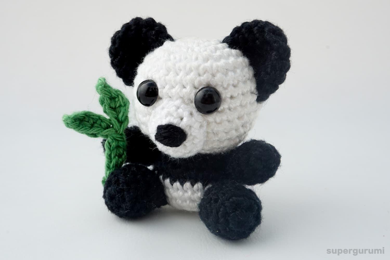 Panda häkeln | marianne | Pinterest | Häkeln, Amigurumi und Nadel ...
