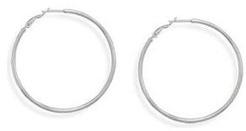 #AzureBella Jewelry       #Hoop Earrings            #Hoop #Earrings #50mm #Clip #Post #Sterling #Silver                           Hoop Earrings 3mm x 50mm Clip Post Sterling Silver                            http://www.seapai.com/product.aspx?PID=7467406