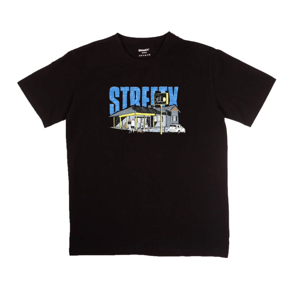 Streetx Yelo Tee Australian Blank Tee Fit Is True To Size Screenprinted Graphic Heavyweight Cotton Garment Collaborative Tee With The Tees Mens Tops Tee S [ 1000 x 1000 Pixel ]