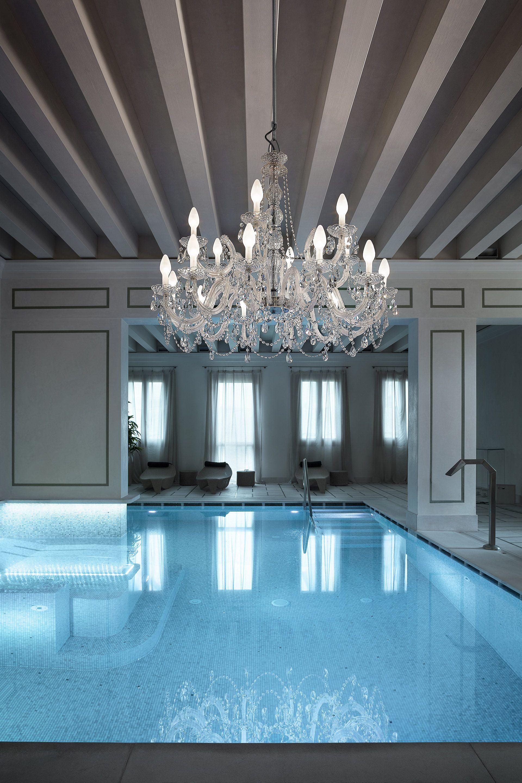 Outdoor Crystal Glass Chandelier | Juliettes Interiors