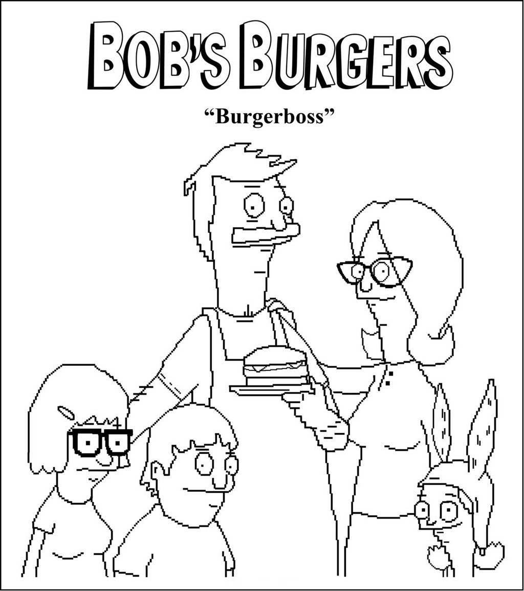 The Official Bob S Burgers Coloring Book Follows In The Best Searching Coloring Pages Of Star Wars In 2021 Bobs Burgers Coloring Pages Bobs Burgers Coloring Pictures