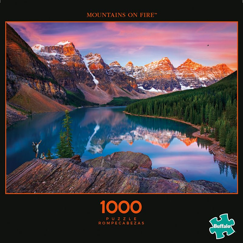 Photography Mountains On Fire 1000 Piece Jigsaw Puzzle Buffalo Games Jigsaw Puzzles Puzzle